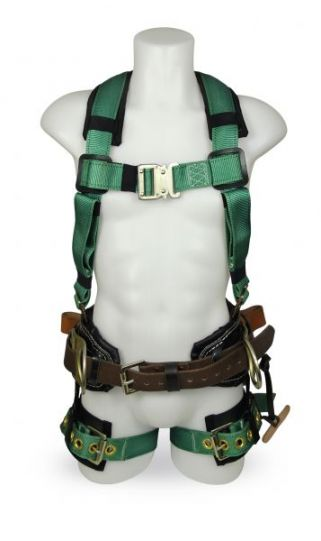 LINEMAN COMBO HARNESS WITH 3 D RINGS CSA