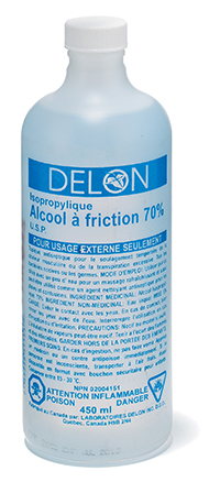 ALCOOL ISOPROPYL 70% 500ML