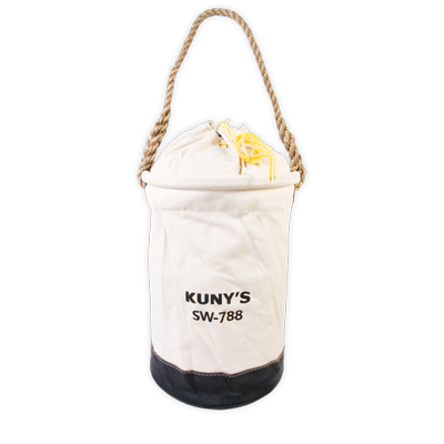 SAC A OUTIL CANVAS REFERMABLE 12'' X 16'' FOND EN CUIR 150