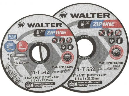 DISQUE ZIPCUT SPIN-ON A-60 TYPE 27S